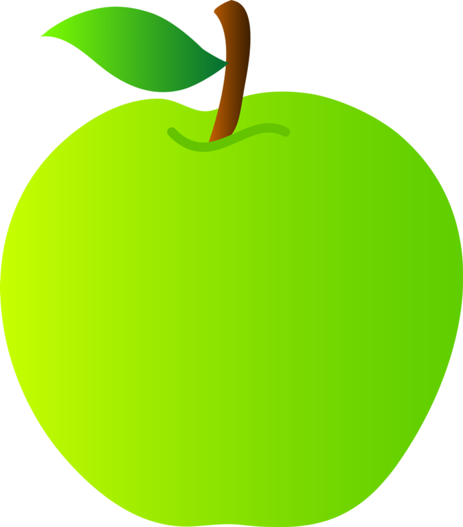 Apples vector simple. Free green apple pictures