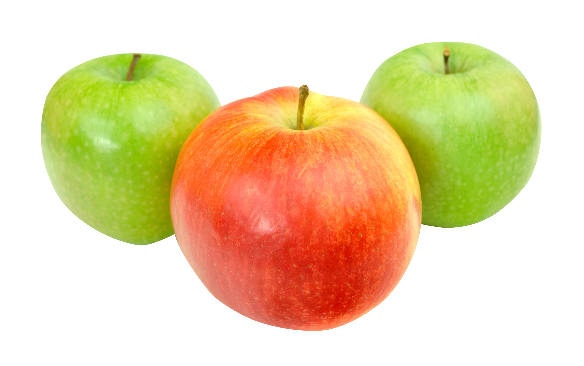 Green apples png. Red and image purepng
