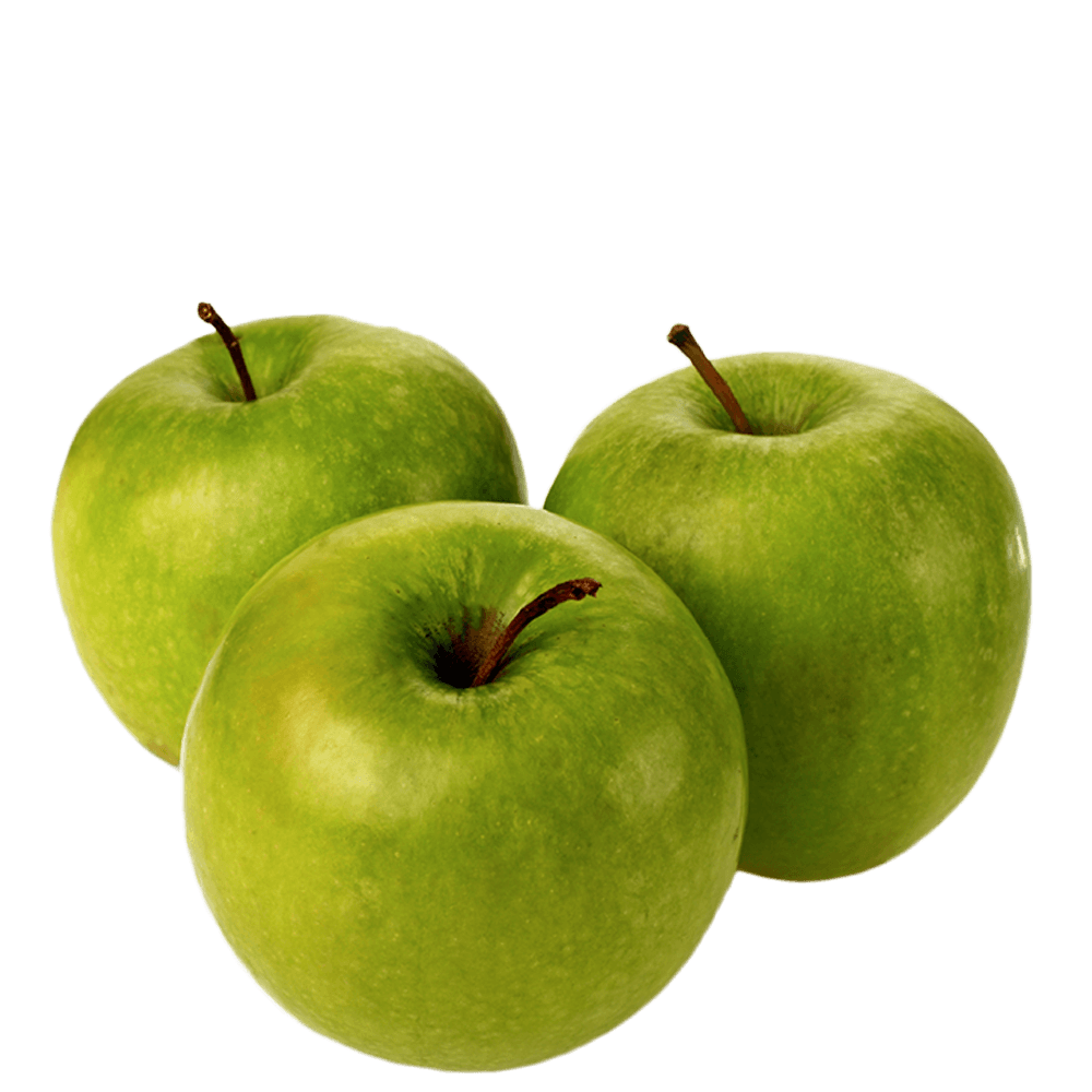 Green apples png.