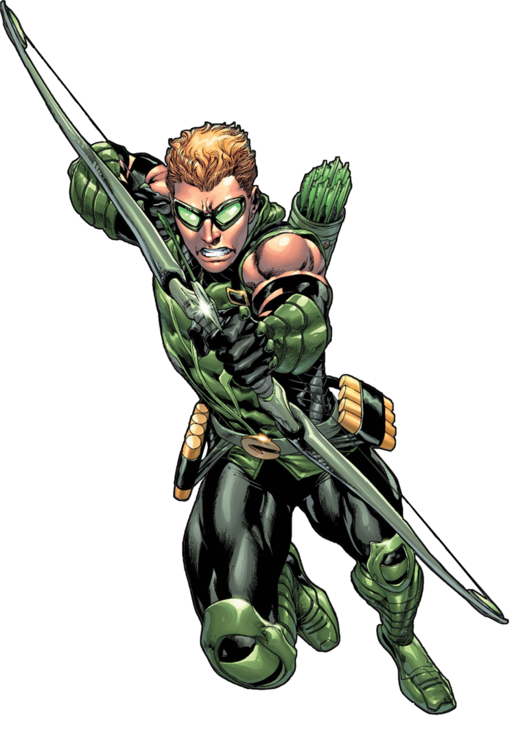 Green arrow comic png. Image oliver queen new