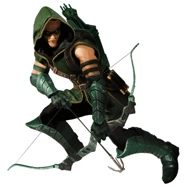 Green arrow comic png. Dc comics one collective