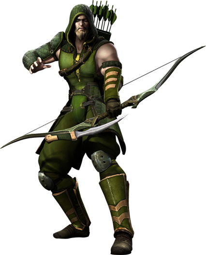 The green arrow png. Image injustice gods among