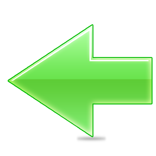Green arrow icon png. Left transparentpng