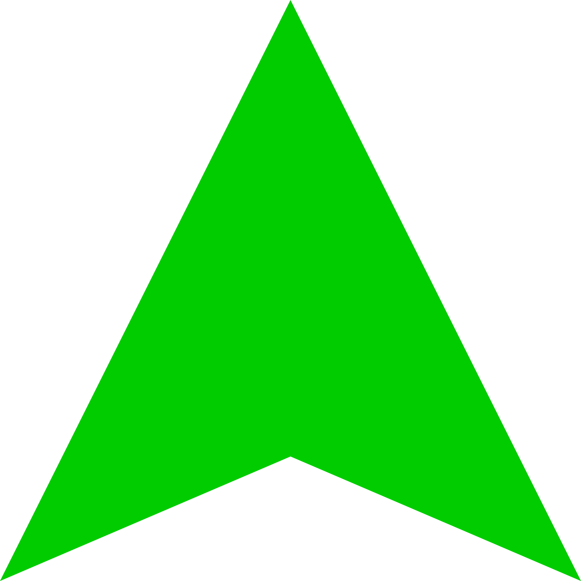 Green arrow icon png. File up darker svg