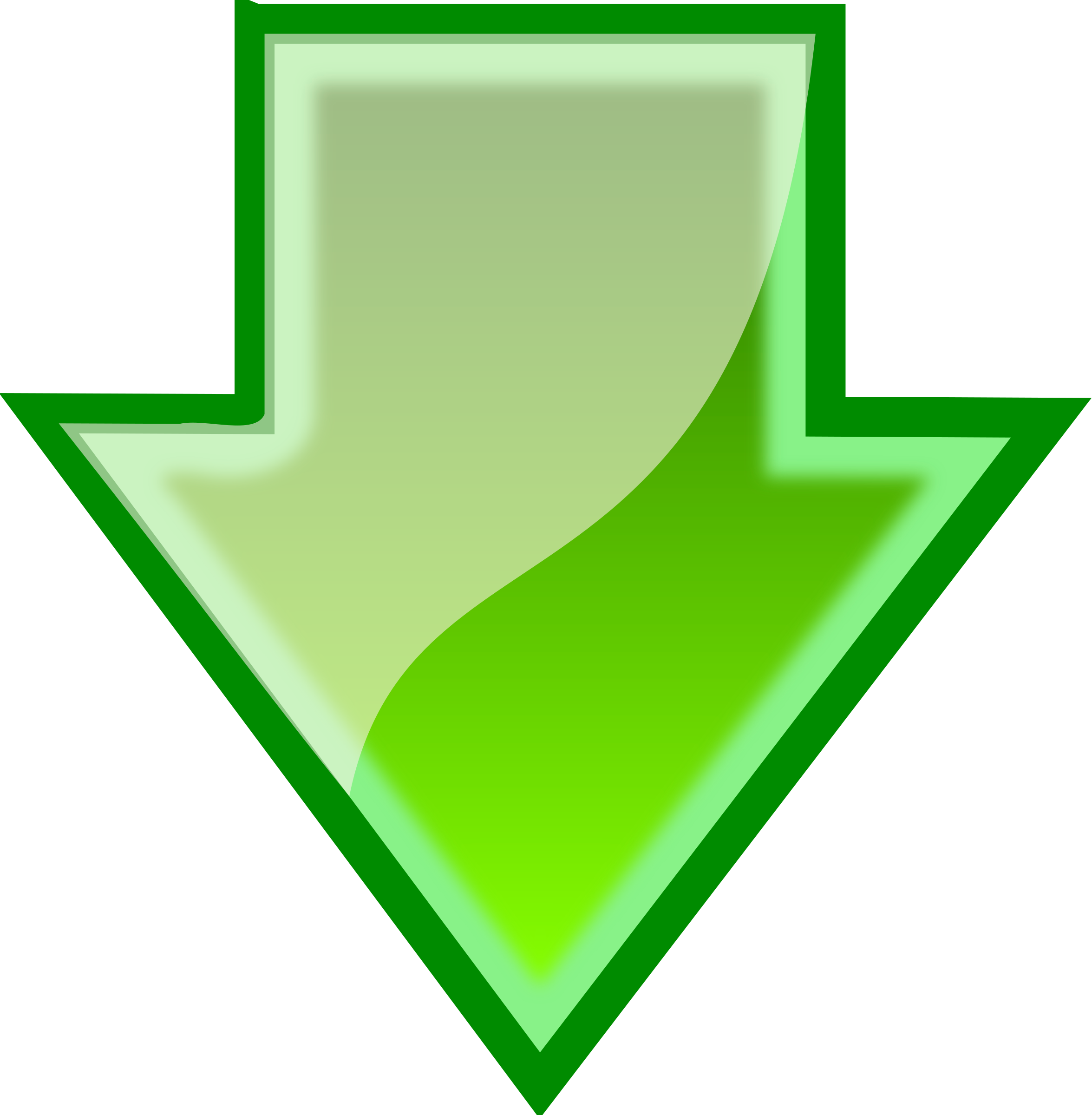 Green arrow .png. Download icons png free