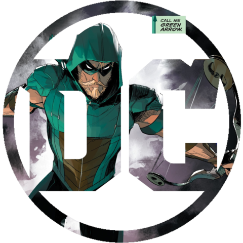 Green arrow rebirth png. Image dc logo for