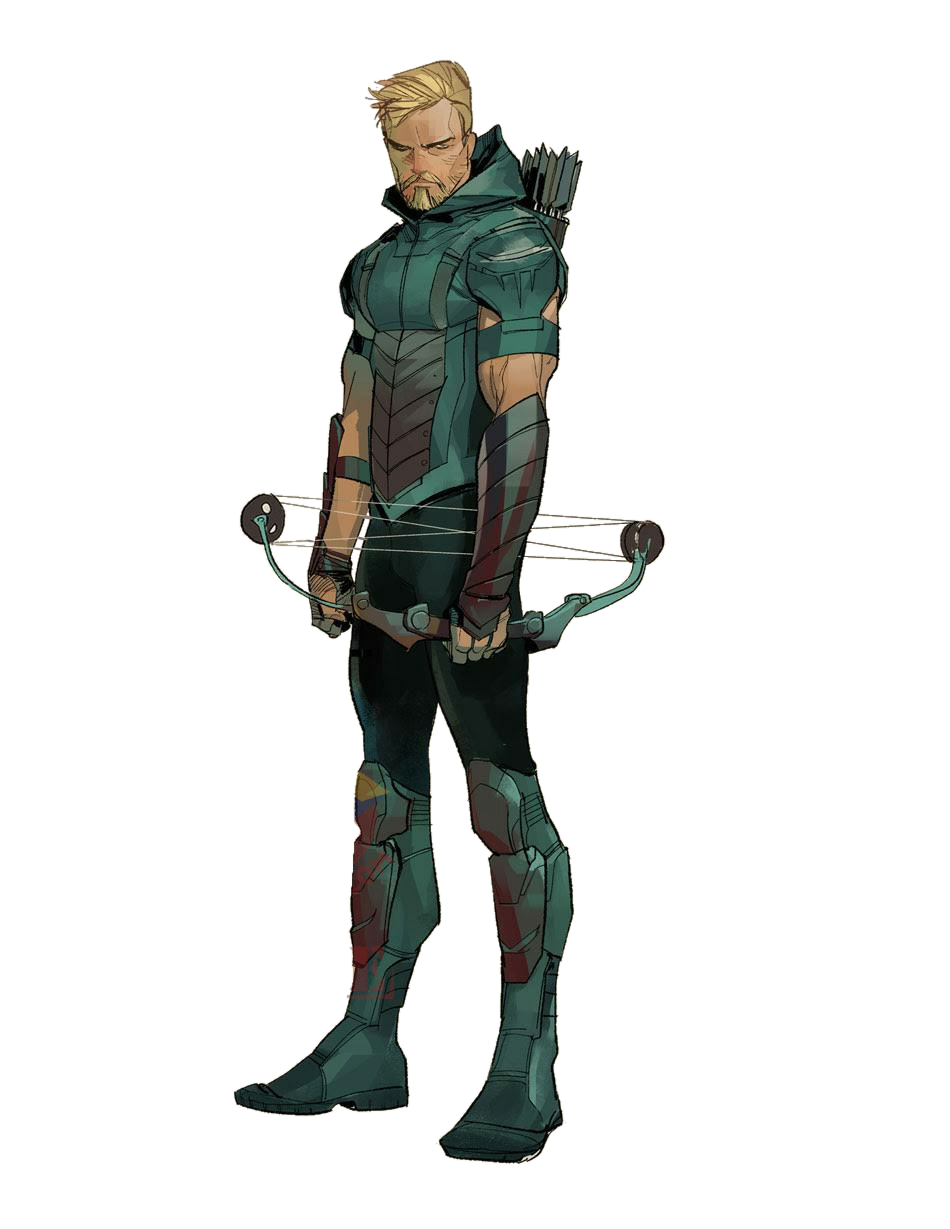 Green arrow rebirth png. Transparent by asthonx on