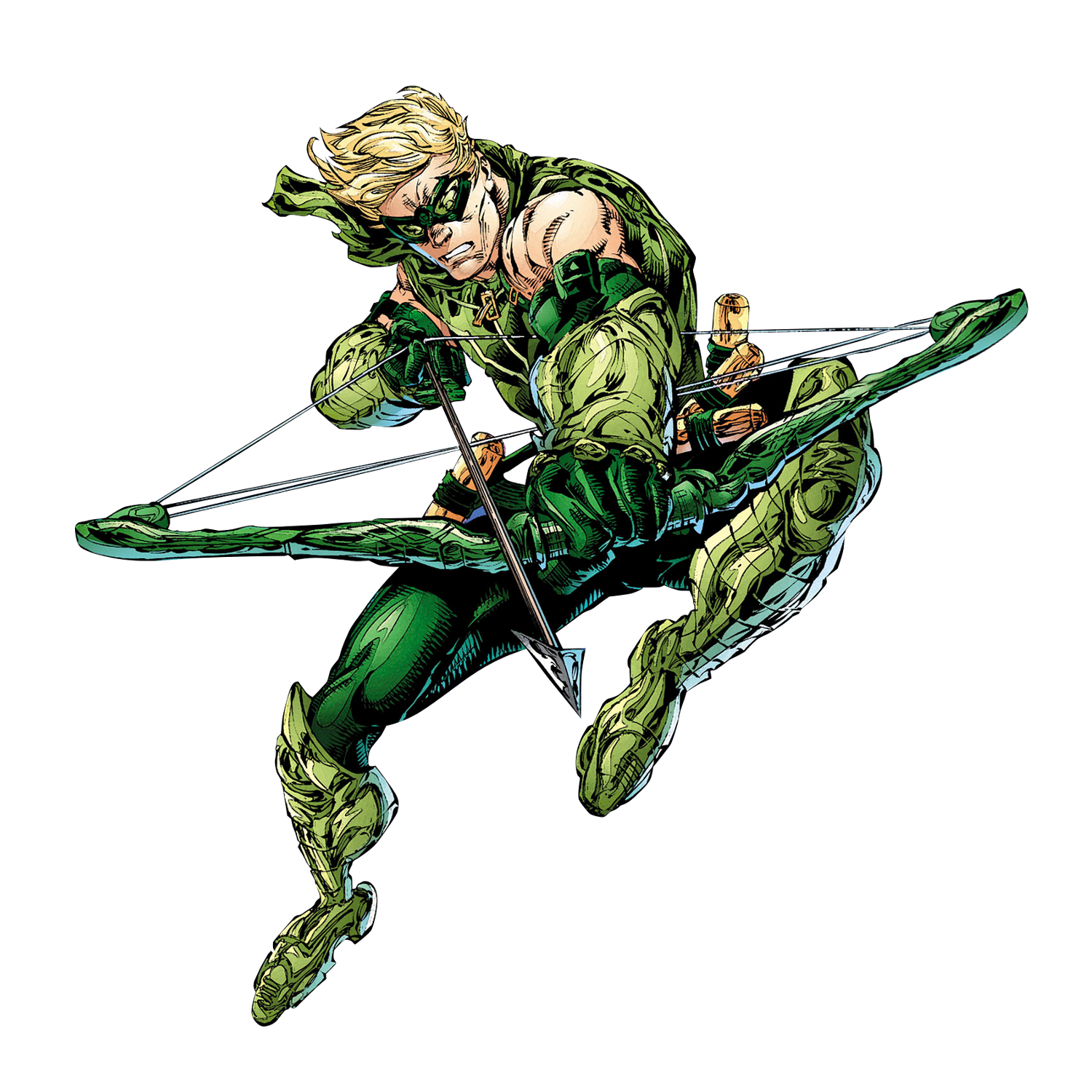 green arrow rebirth png
