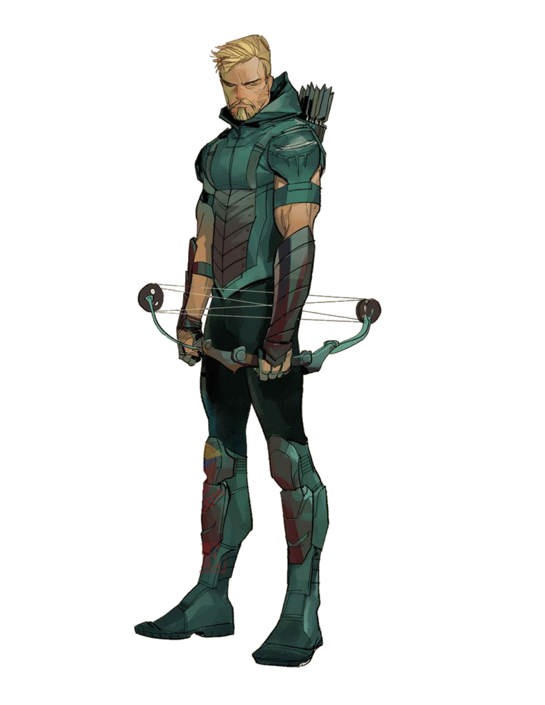 Green arrow rebirth png. Transparent by asthonx