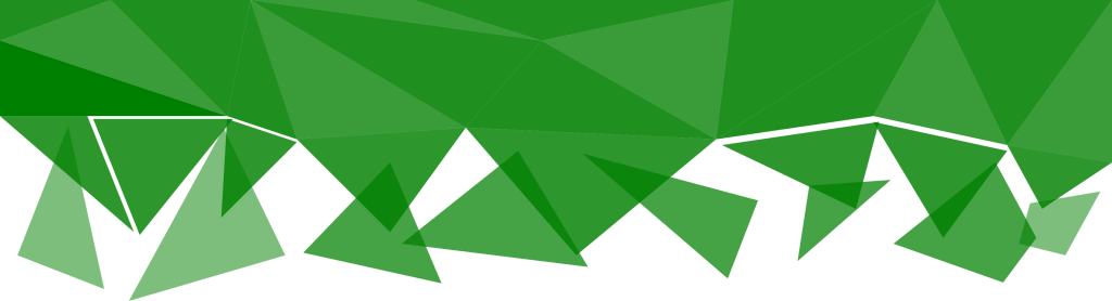 Green background vector png. Polygonal fade transparent