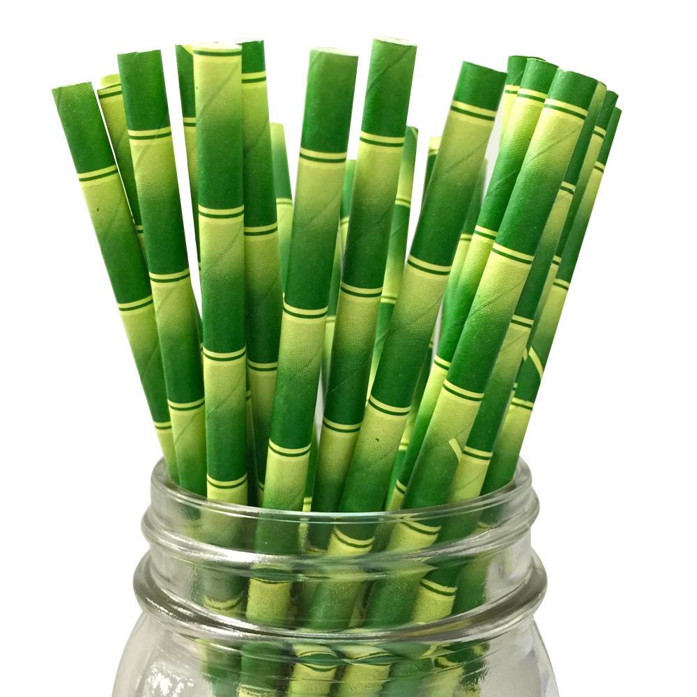 Green bamboo png. Pattern pc paper straws