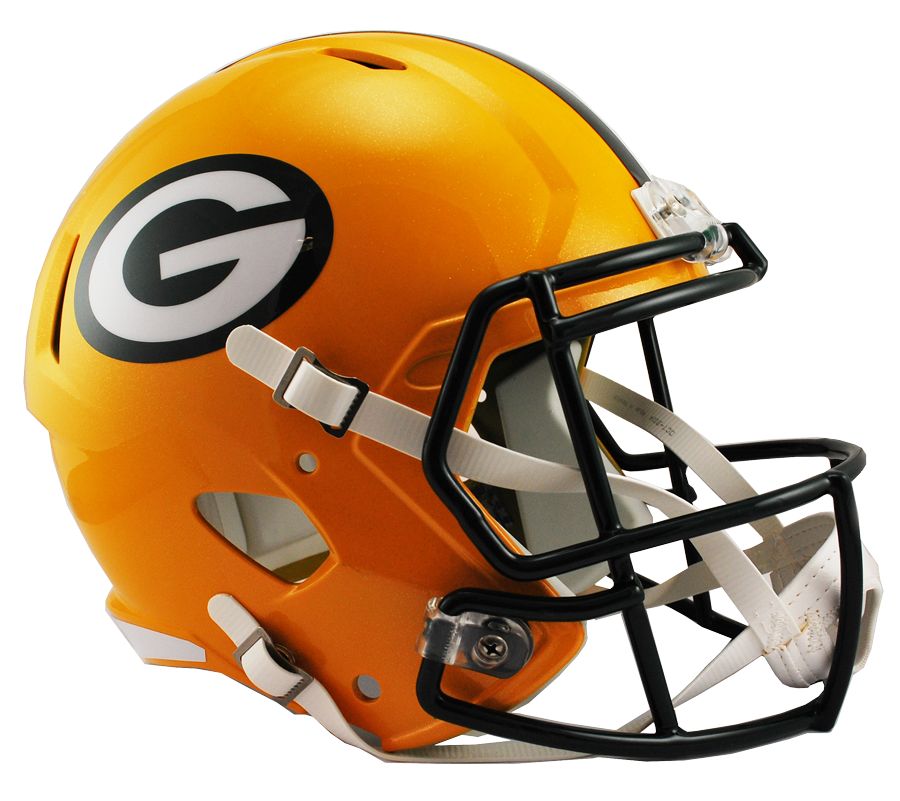 Green bay packers g png. Shop riddell speed replica