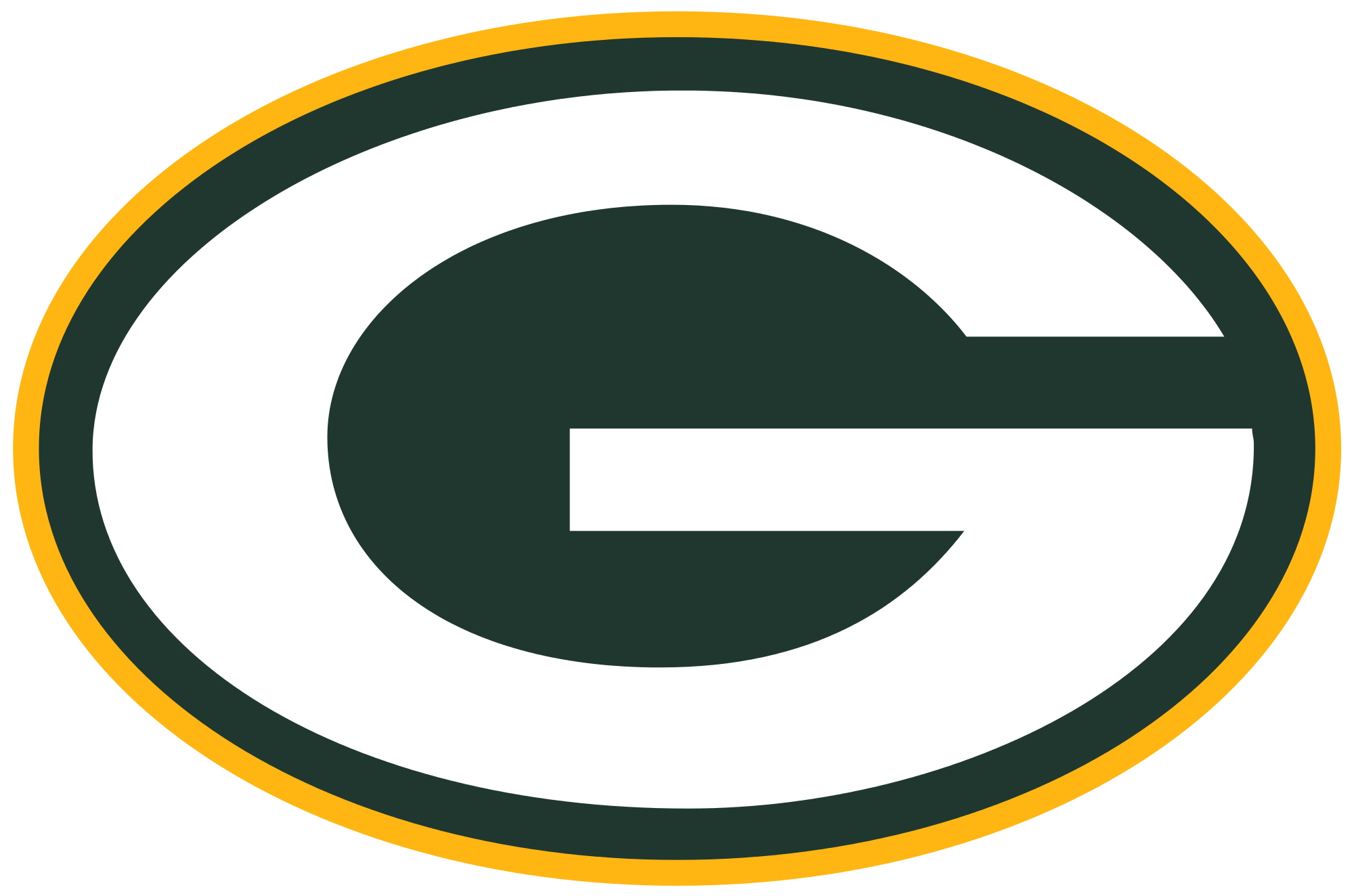 Green bay png. Packers logo transparent stickpng