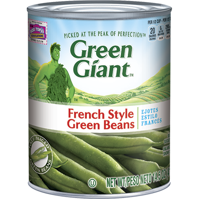 Canned vegetable labels png. Image green giant french