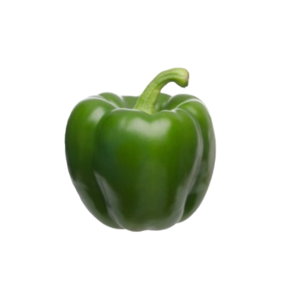 Green bell pepper png. Farm picked for you