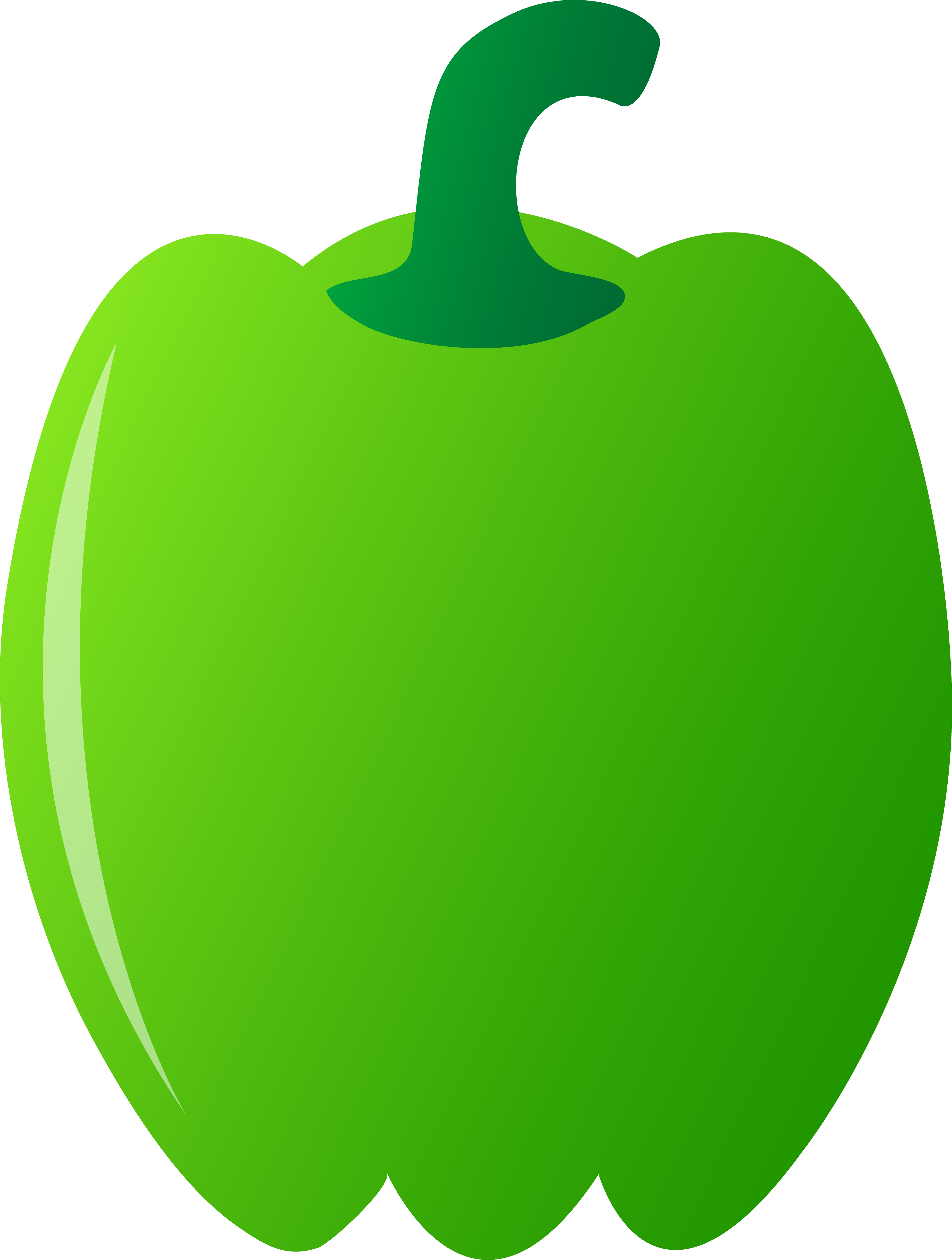 Green pepper drawing at. Peppers clipart animated clipart freeuse stock