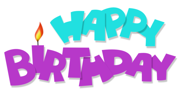Green birthday png. Happy transparent blue and