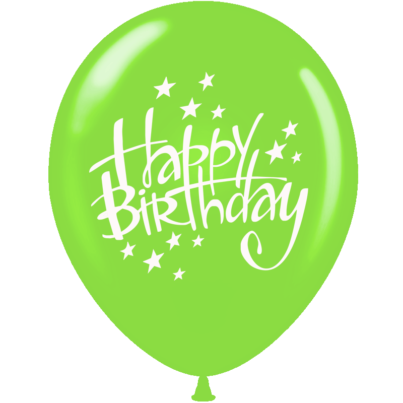 Green birthday png. Happy fast lunchrock co