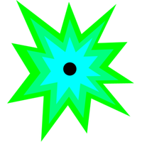 Green blast png. Download miscellaneous category clipart