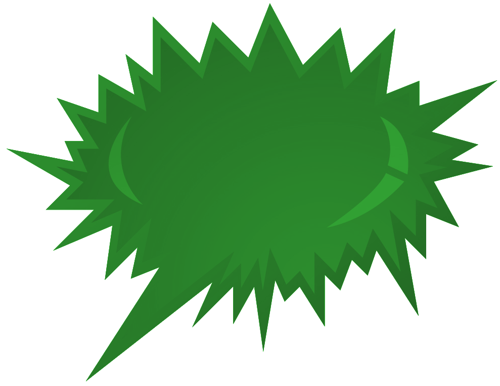 Green blast png. Image of clipart explosion