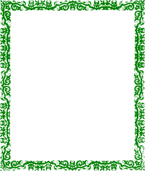 Green border png. Design clip art at