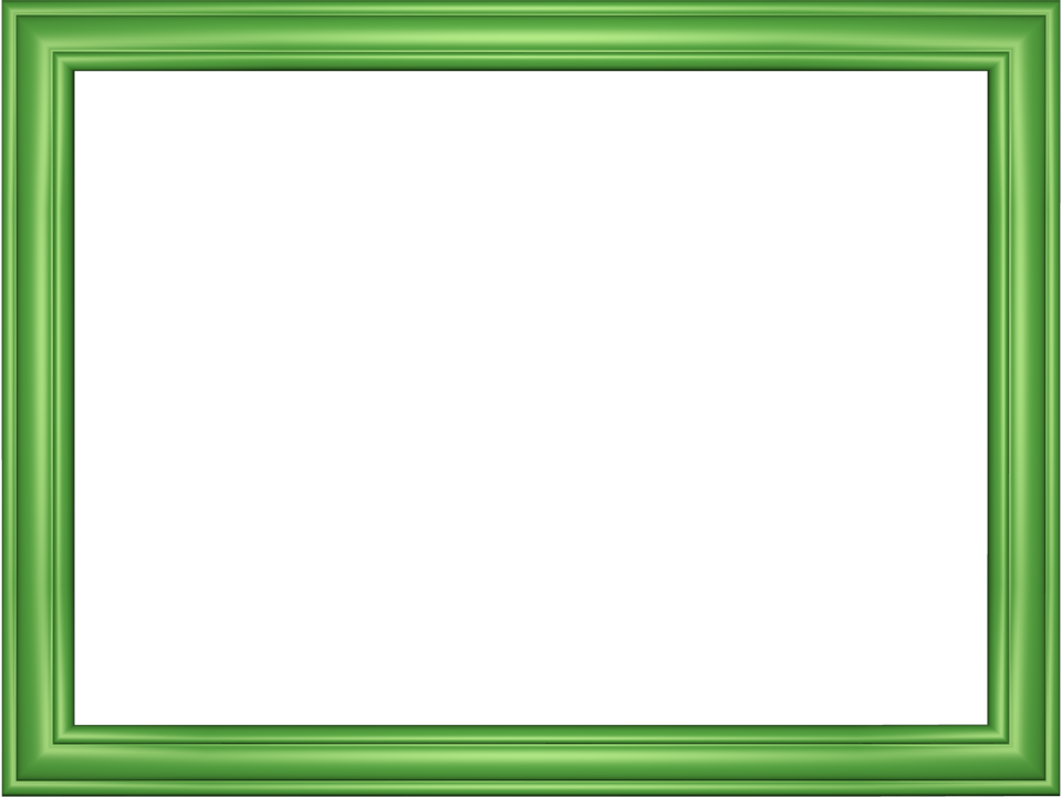 Green border png. Design elegant embossed frame