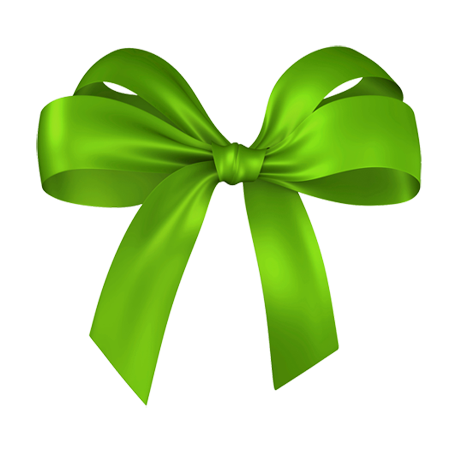 Green bow png. Free icons and backgrounds