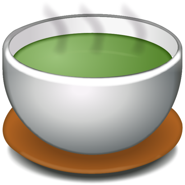 Green bowl png. Download soup without handle