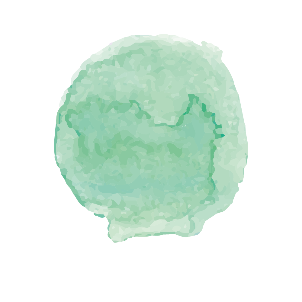 Green brush stroke png. Watercolor painting ink wash