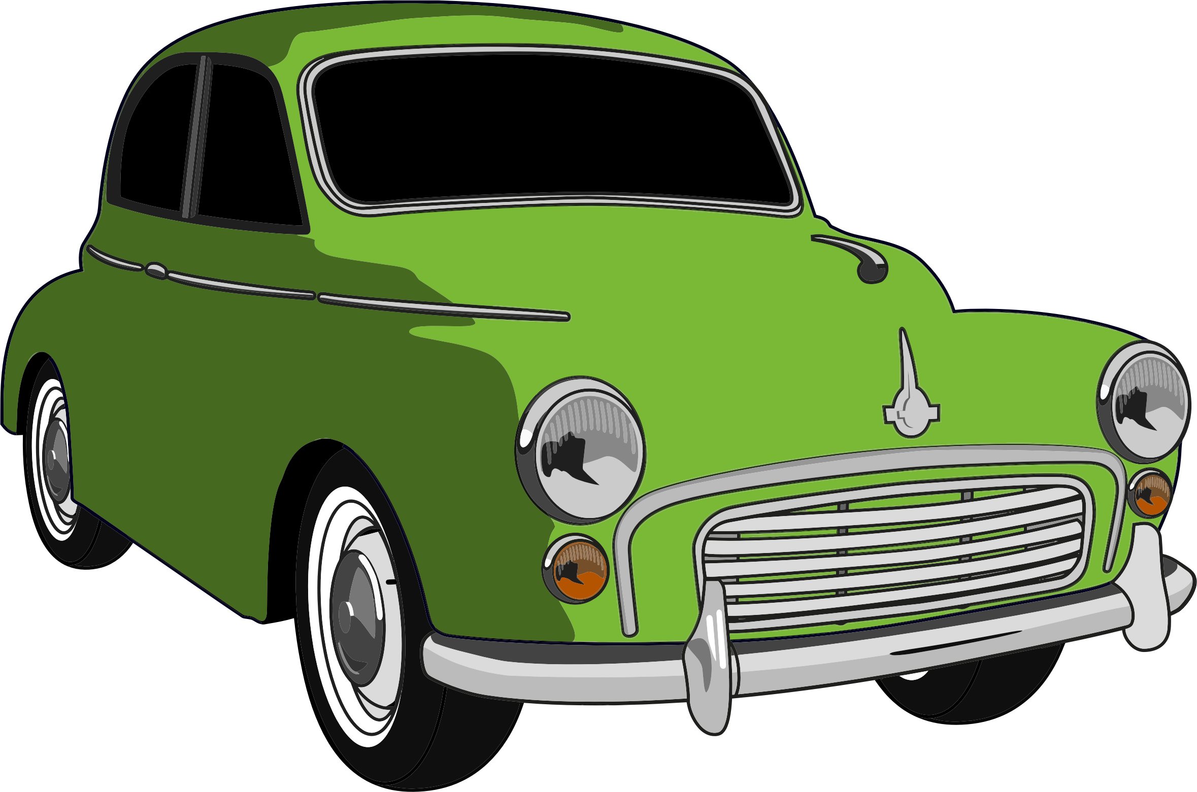 Green car png. Classic icons free and