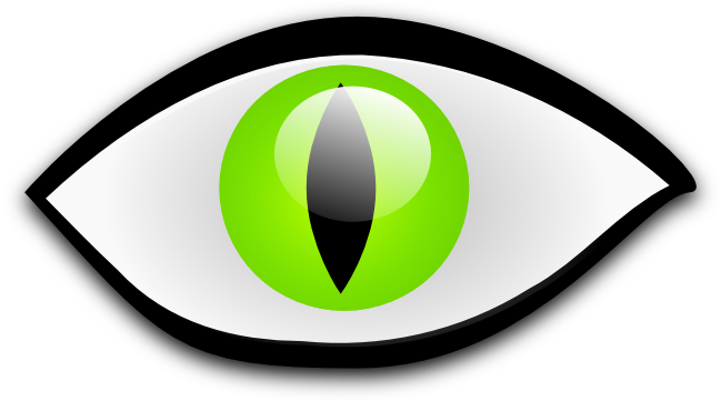 Green cat eyes png. Free clipart this very