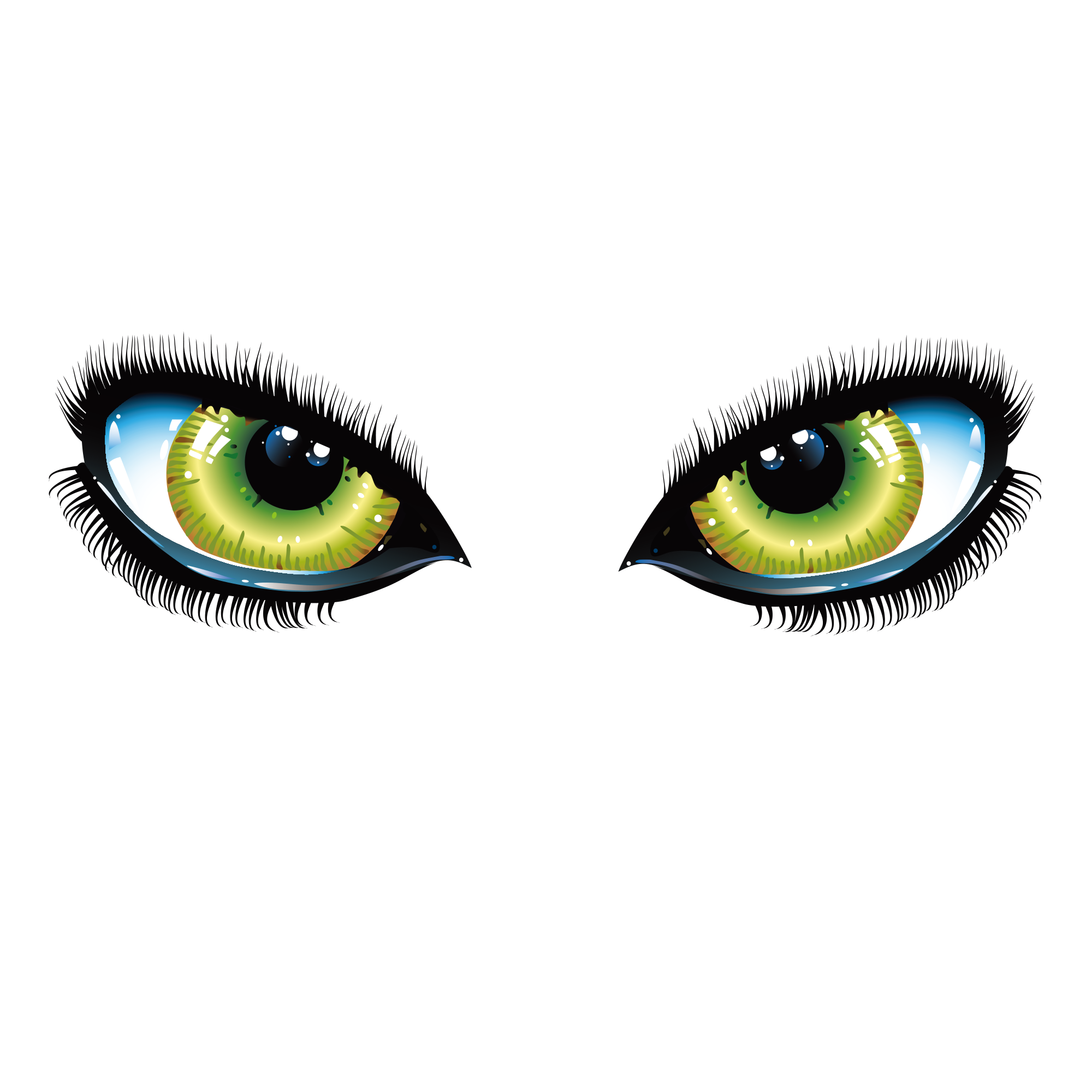 Cats eye iris transprent. Green cat eyes png picture black and white stock