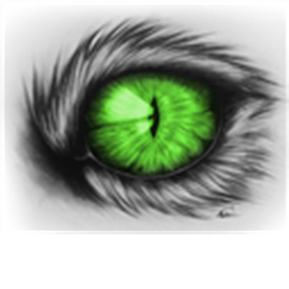 Green cat eyes png. House eye drawing by