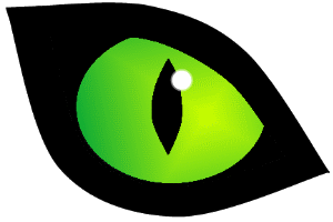 Kinect for windows hands. Green cat eyes png clipart transparent library