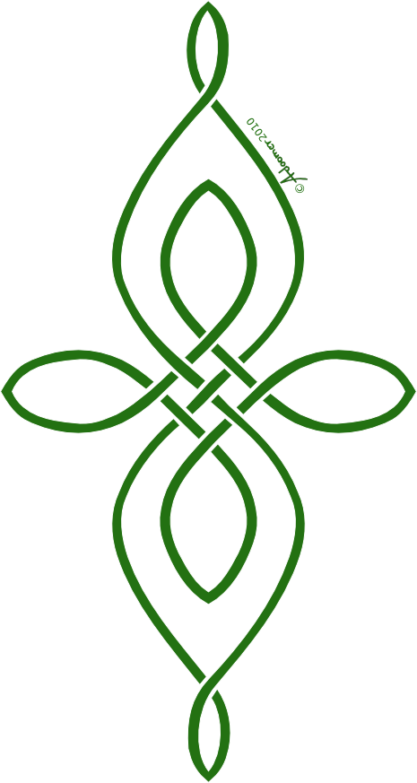 Green celtic cross png. Knot love the use