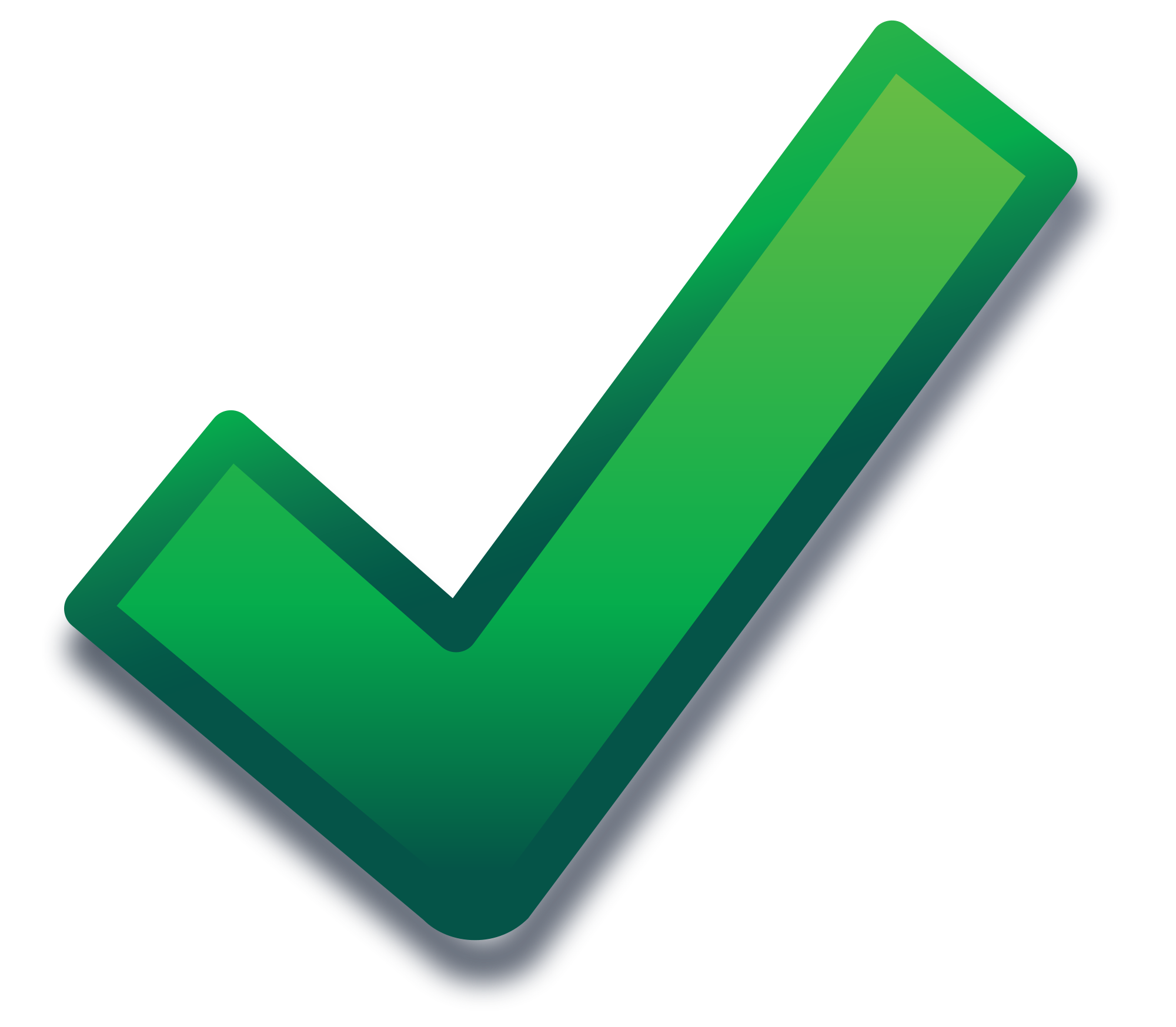 Green check mark png. File tick modern svg