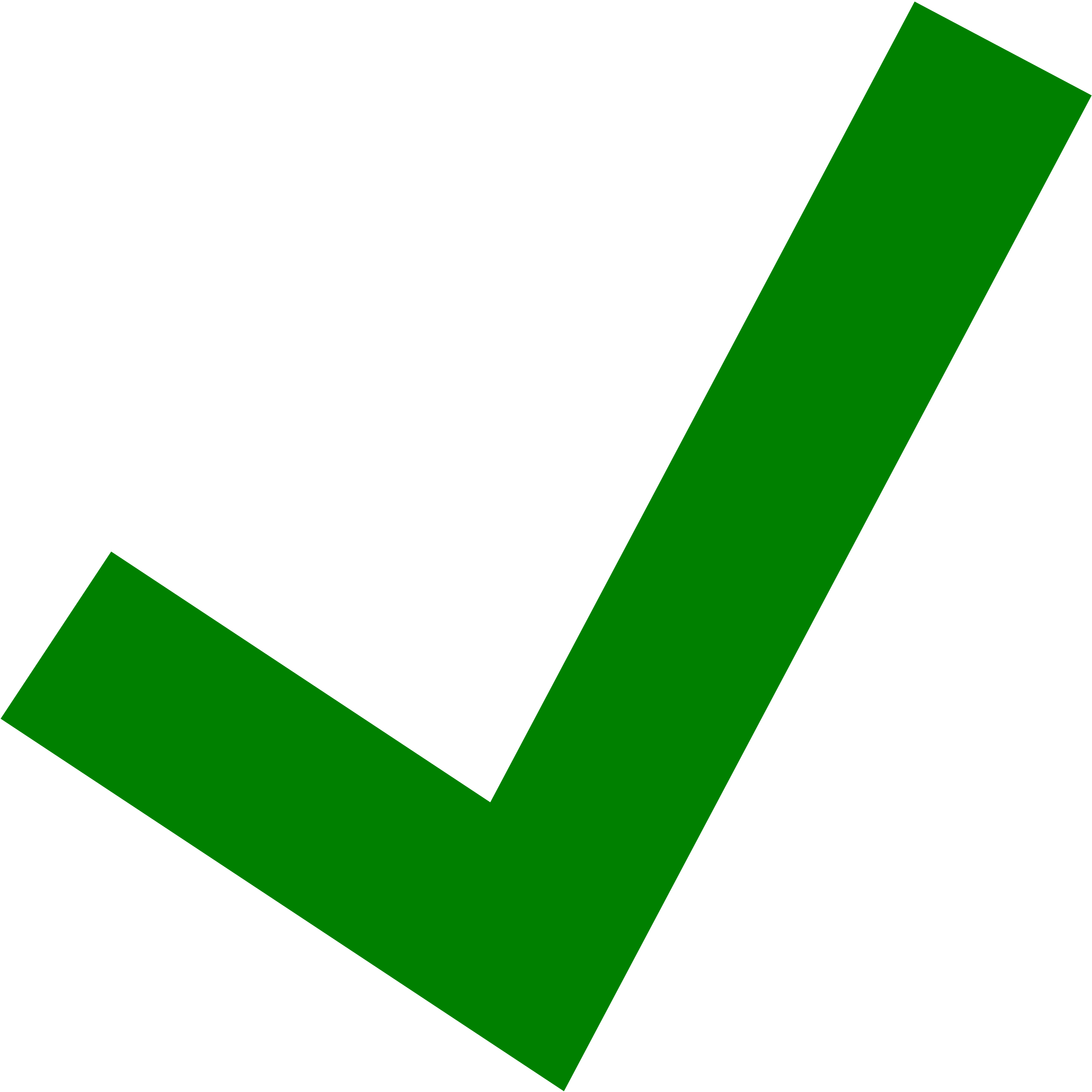 Green check png. File tick pointed svg