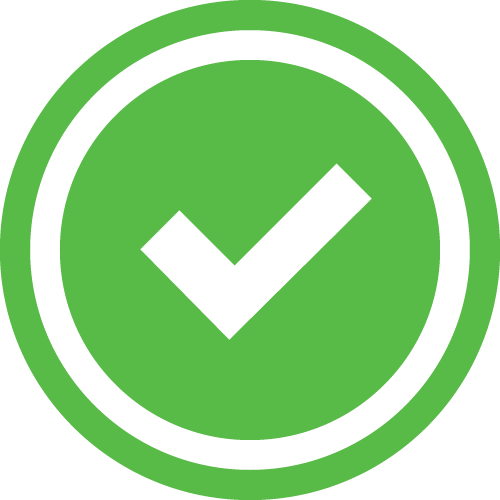 Green check red x png. Gauge and icon overview