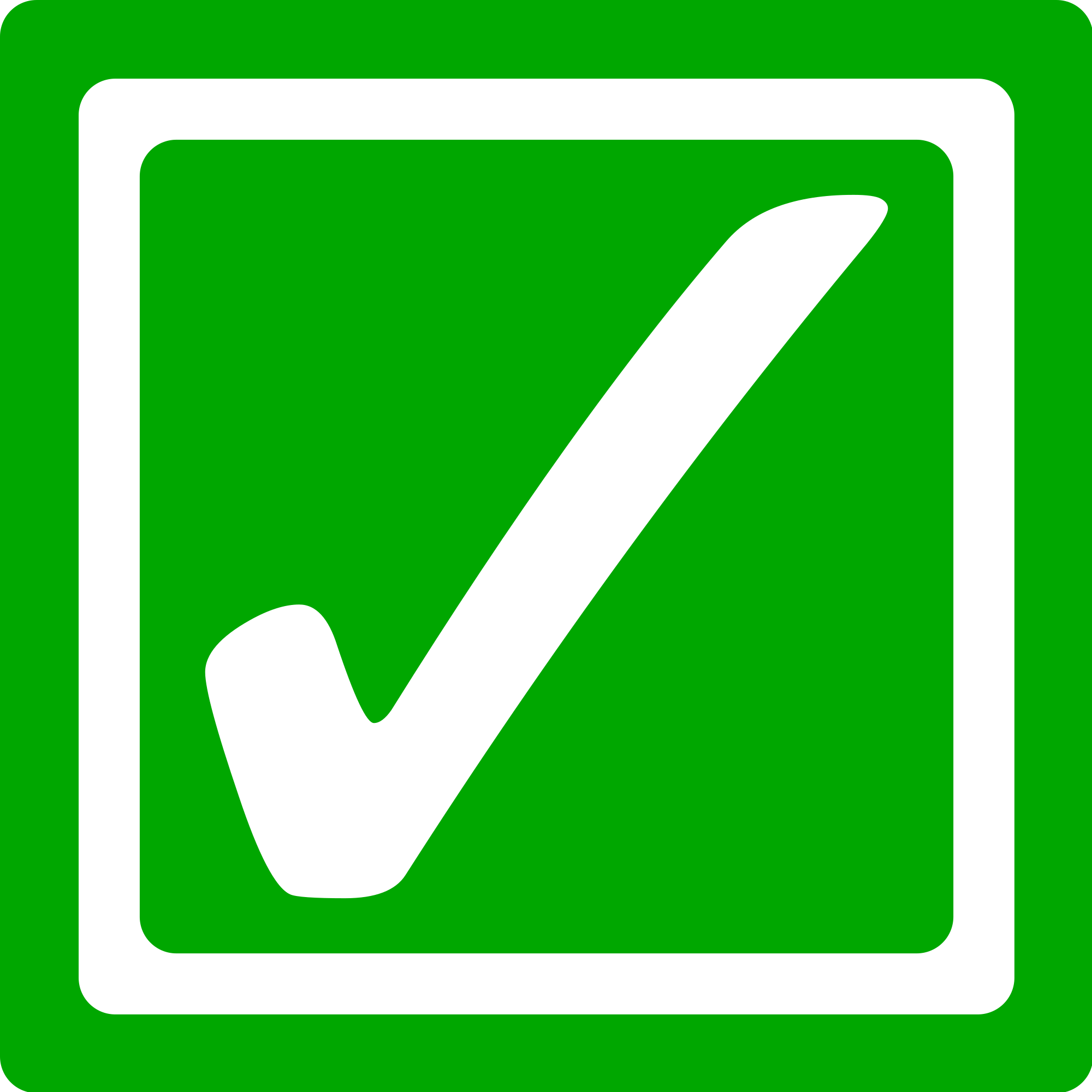 Green checkbox png. File bright checked svg