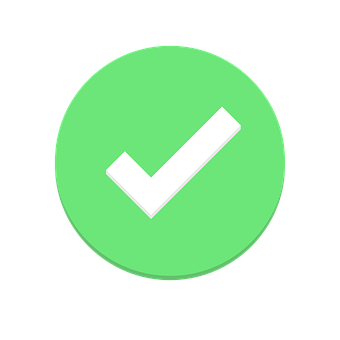 Svg checkmark powerpoint. Free green check mark