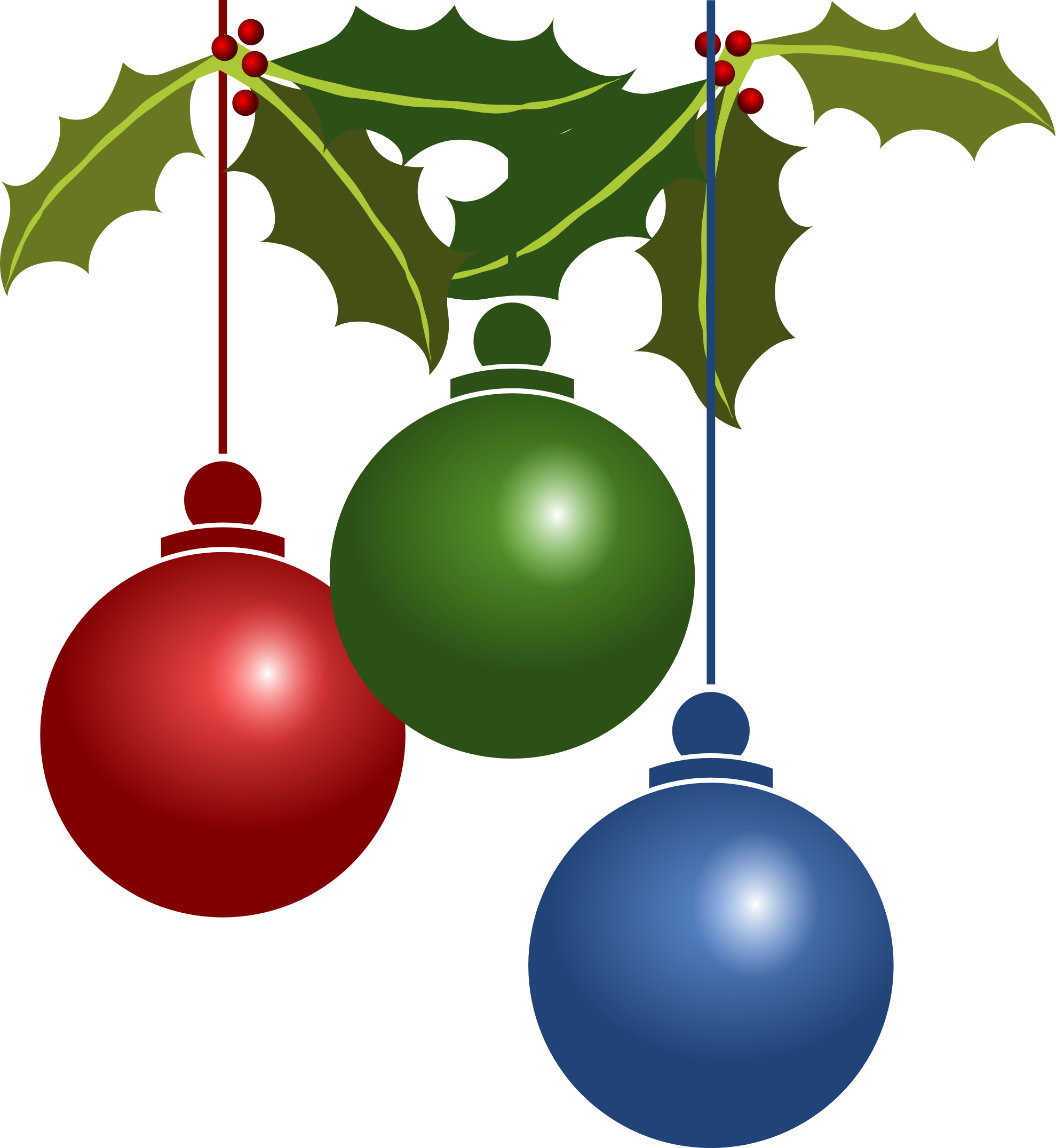 Green christmas ornament png. Ornaments transparent pictures free