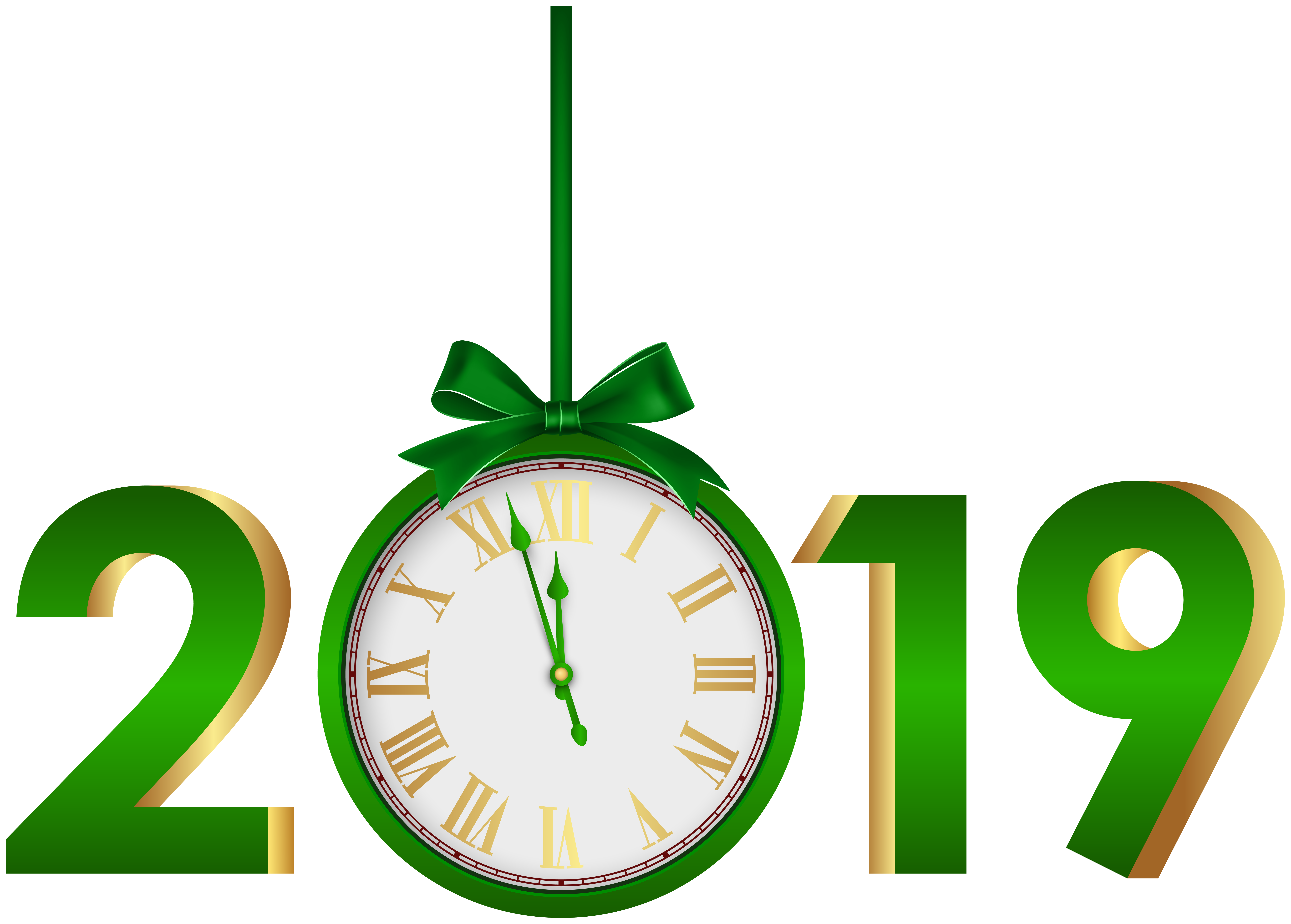 Green clipart. With clock png