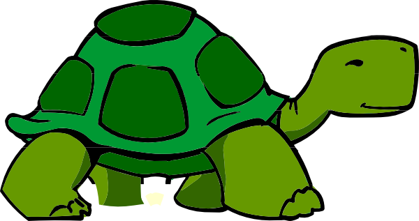 Tortoise vector cartoon giant. Green clipart at getdrawings