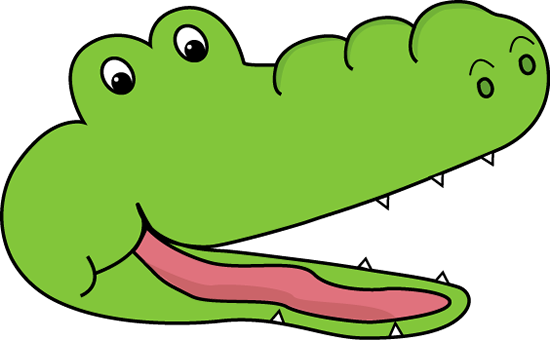 Free green download clip. Alligator clipart banner royalty free