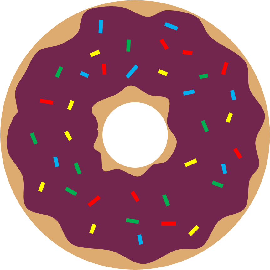 Green clipart donuts. Literary hoots storytime pink