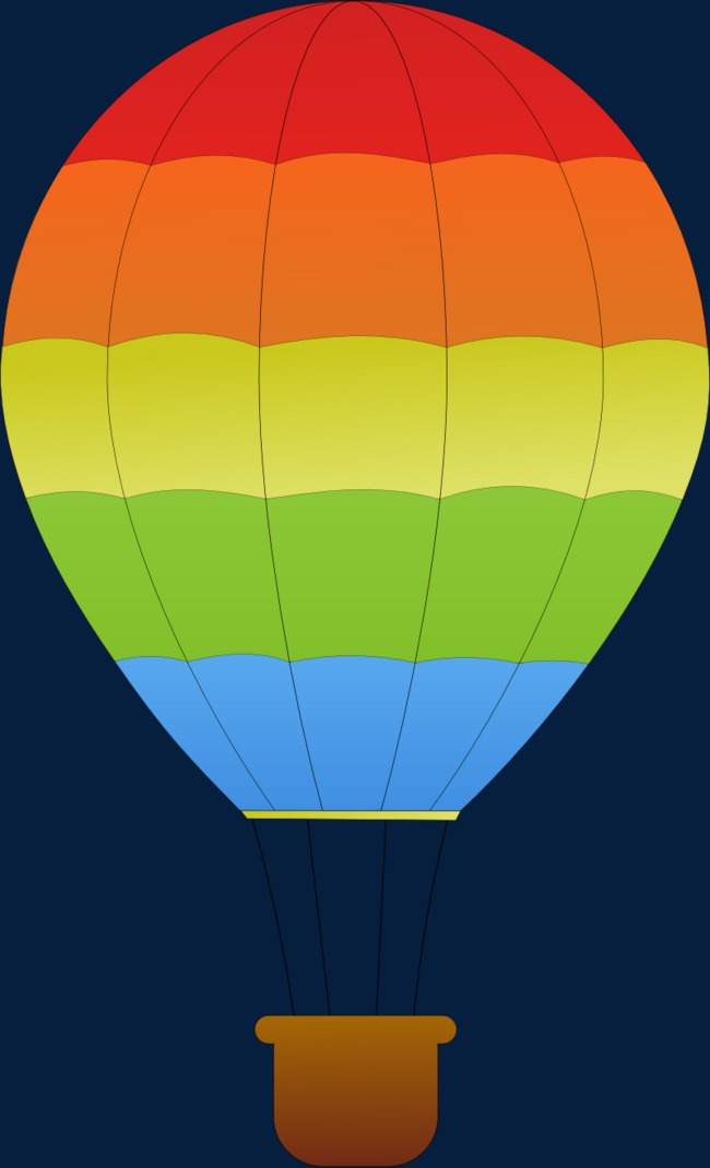 Green clipart hot air balloon. Colored cartoon color png