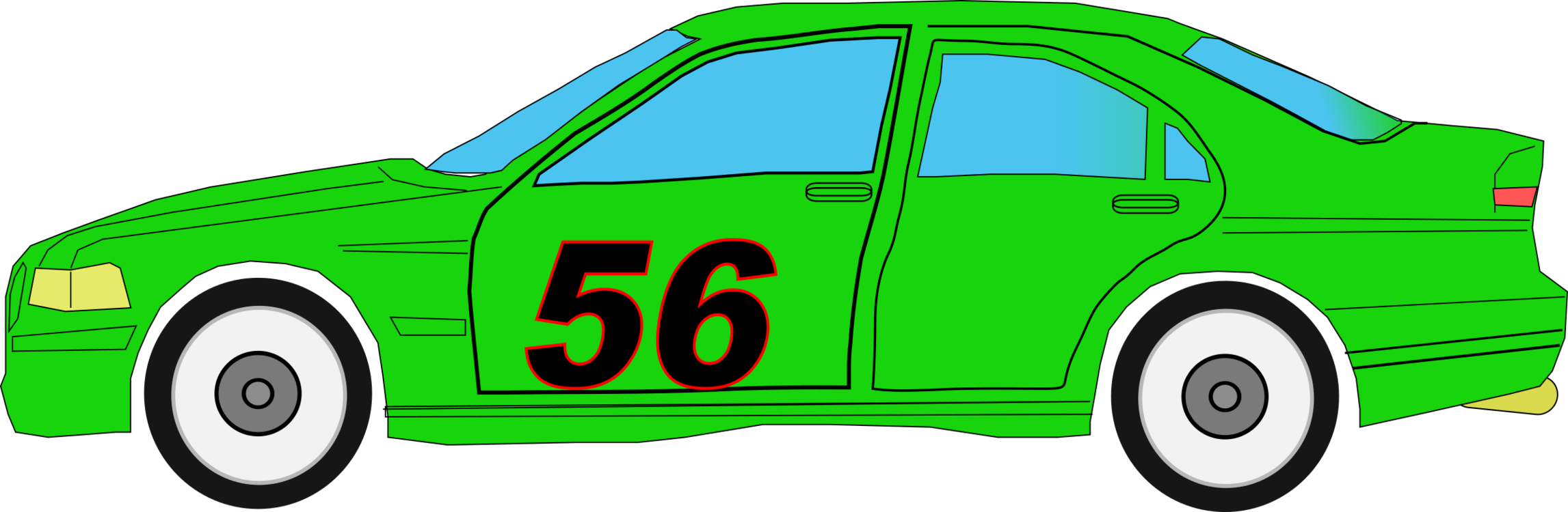 Green clipart race car. Vehicle auto racing free