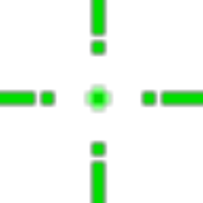 Green crosshair png. Roblox