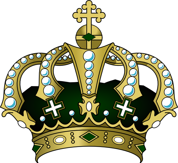 Green crown png. Clip art at clker