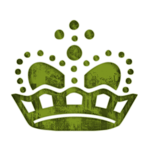 Green crown png. Queen crowns clipart